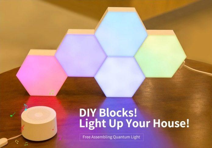 """Lifesmart LS160, la lampada """"quantistica"""" assemblabile per un'illuminazione smart"""