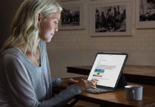 Logitech Slim Folio Pro è la cover con tastiera retro illuminata per iPad Pro 2018