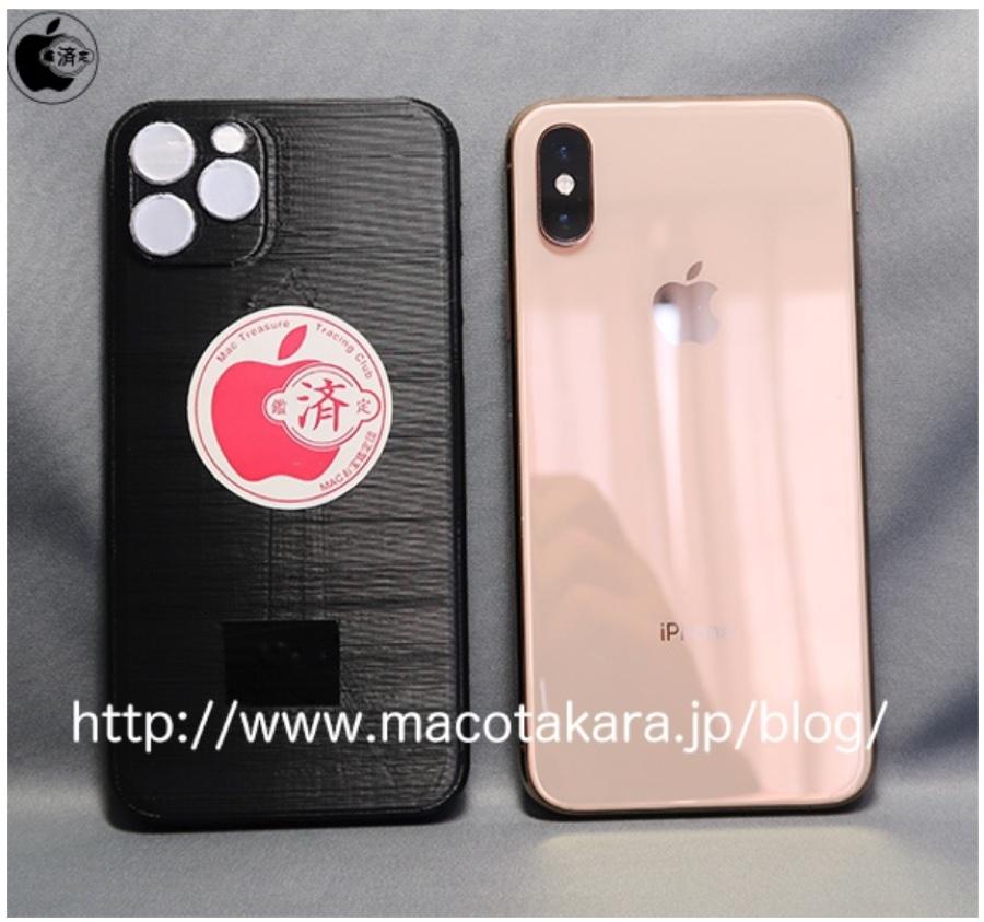 I primi mockup iPhone 2019 stampati in 3D confrontati con gli iPhone 2018