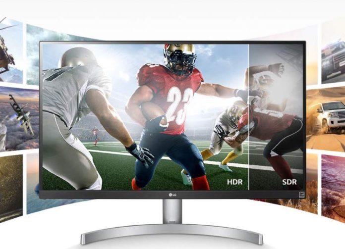 Monitor LG per studio, grafica e gaming in offerta su Amazon