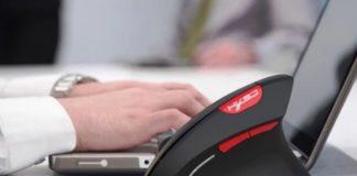 HXSJ T29, il mouse verticale senza fili per eliminare i problemi al polso
