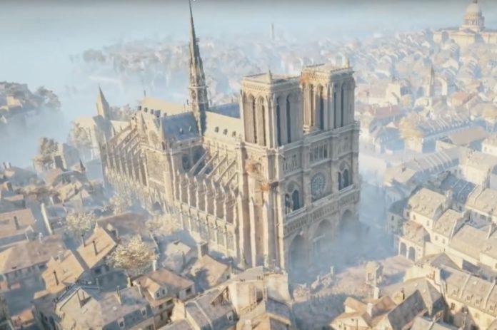 Per ricostruire Notre Dame forse tornerà utile Assassin's Creed