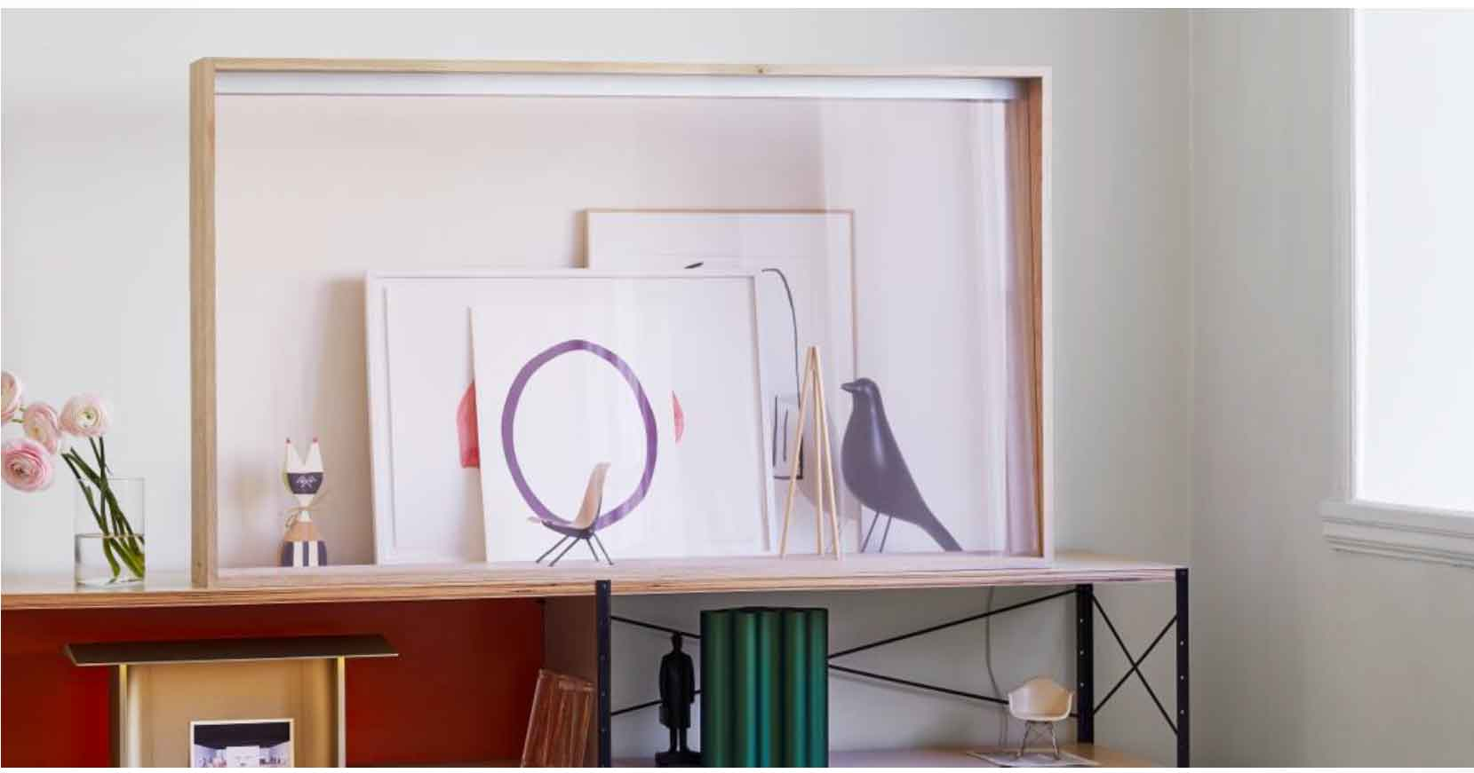 oncept di TV OLED trasparente