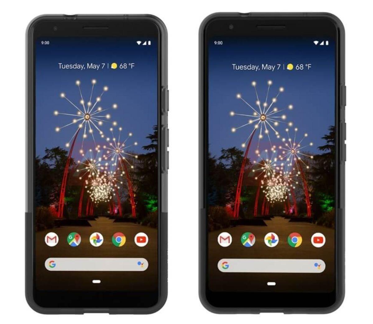 Ecco i presunti Pixel 3a e Pixel 3a XL