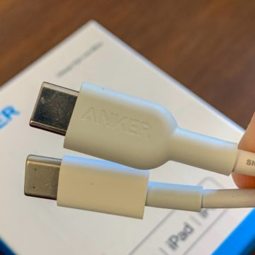 Recensione cavo Anker Lightning USB-C