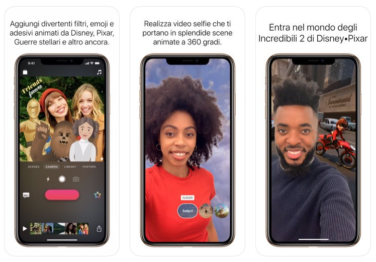 Clips di Apple si aggirona con nuovi filtri ed effetti