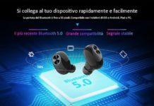 Alfawise V6, solo 23 euro per gli auricolari true wireless con cover di ricarica da 2600 mAh