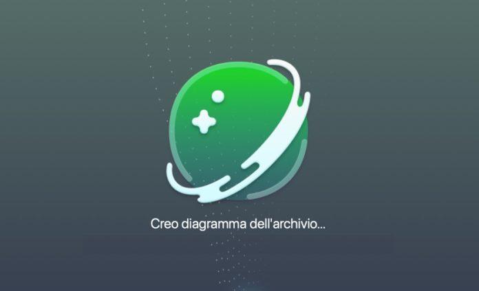 Con la Lente Spaziale d Clean My Mac X i grandi file da cancellare sono a portata di mano