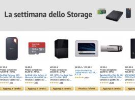 La settimana dello storage Amazon: sconti oltre il 50% su SSD, Flash, Raid di Samsung, Sandisk, WD, Crucial