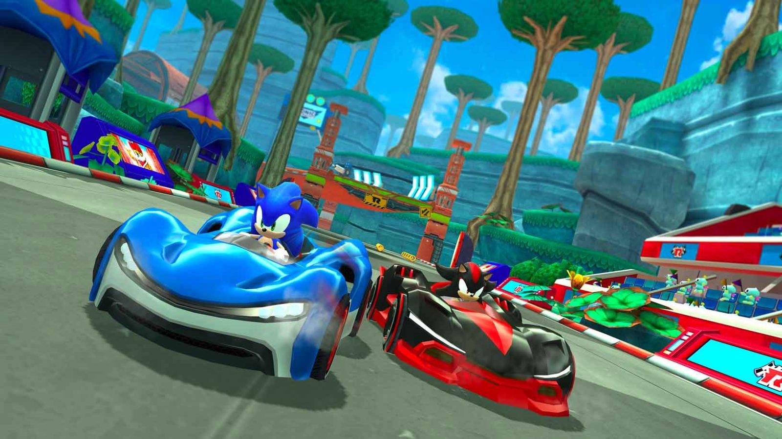 """""""Sonic Team Racing"""" di SEGA e HARDlight, in arrivo entro quest'anno su Apple Arcade."""