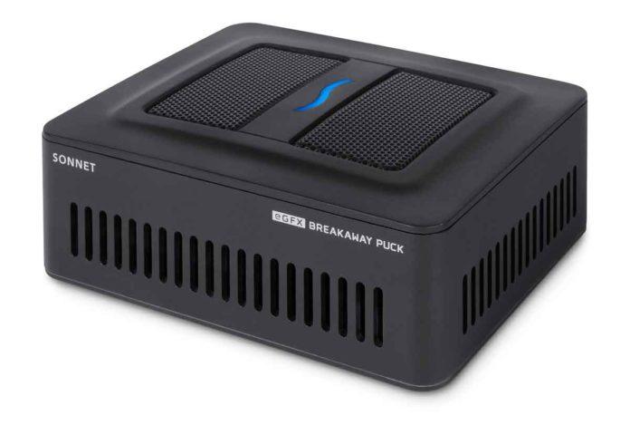 l'eGFX Radeon RX 560 Breakaway Puck