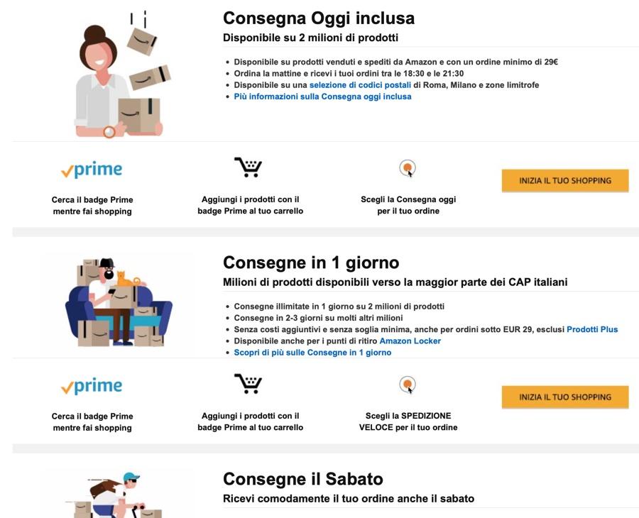 407c0f30f4e6 Amazon inarrestabile, ridurrà ancora i giorni delle spedizioni Amazon Prime  «