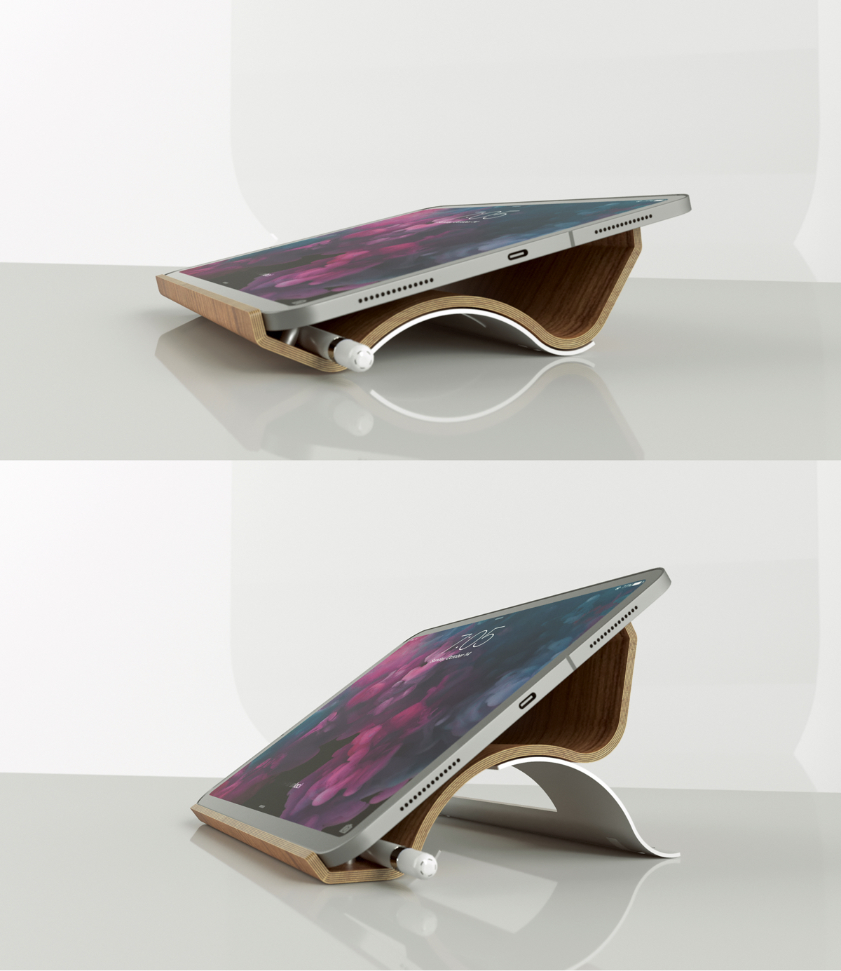 Stand-Up, il supporto per iPad Made In Italy sbarca su Kickstarter