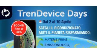 TrenDevice Days: Smartphone e Tablet Ricondizionati, la scelta ecologica di chi ha a cuore l'ambiente