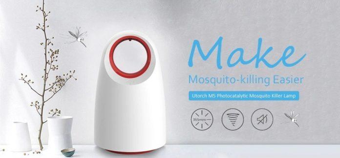 Solo 10 euro per l'elegante e implacabile lampada anti-zanzare Utorch M5