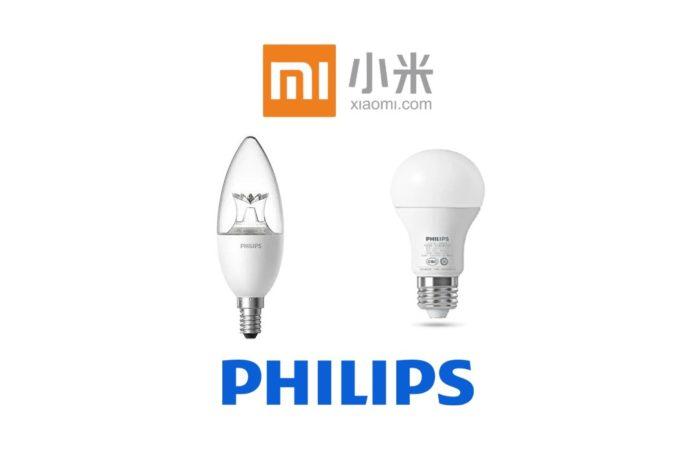 Xiaomi Philips Zhirui, le lampadine LED smart E27 3 E14 a soli 10 euro