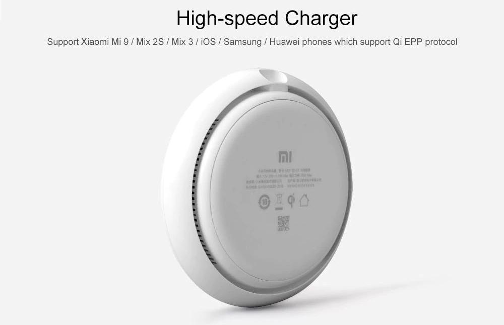 Da Xiaomi il caricabatterie wireless per ricariche lampo che arriva fino a 20W di potenza