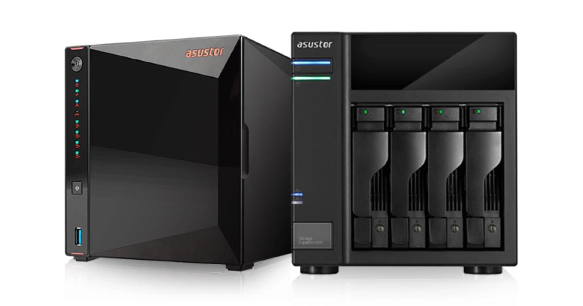 Asustor Nimbustor 2 e 4, i NAS con Intel Gemini Lake