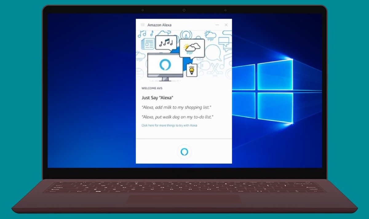 L'app Alexa per Windows 10 trasforma il computer in un altoparlante