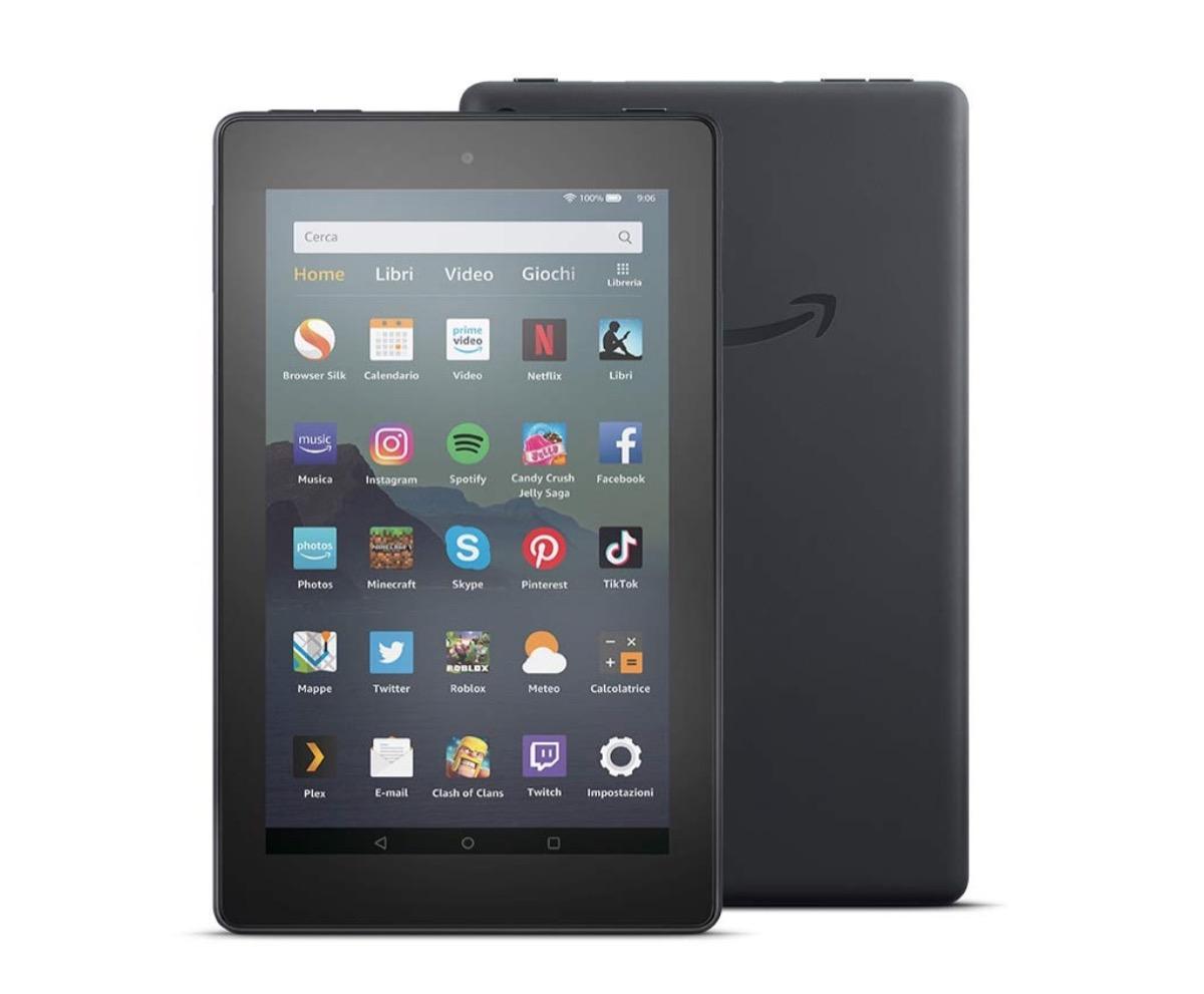 Amazon lancia il nuovo tablet Fire 7