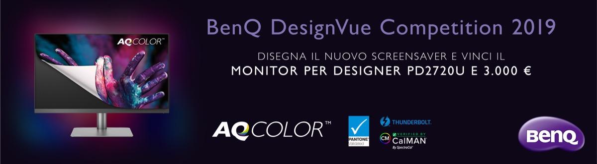 BenQ DesignVue Competition, disegna lo screensaver giusto e vinci 3.000 euro