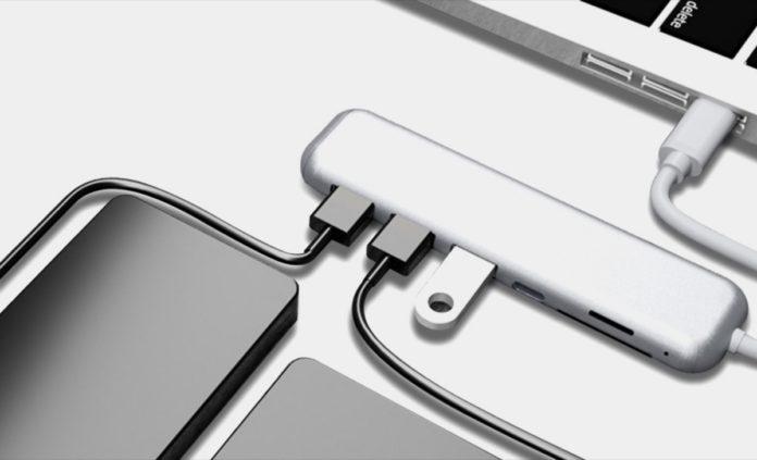 YAOMAISI Q31, l'hub USB-C con 6 funzioni in 1