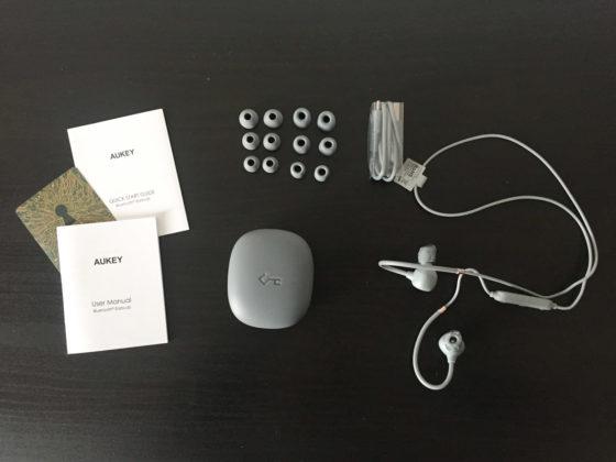 Recensione Aukey EP-B80, auricolari in-ear con archetto e Bluetooth 5.0