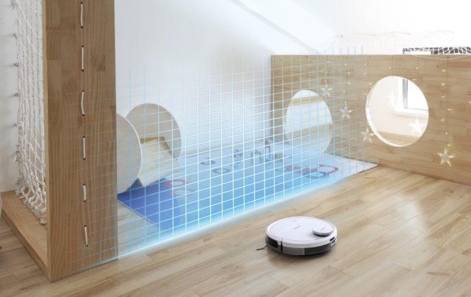 Ecovacs Deebot Ozmo 900, l'aspirapolvere robot ora mappa la casa