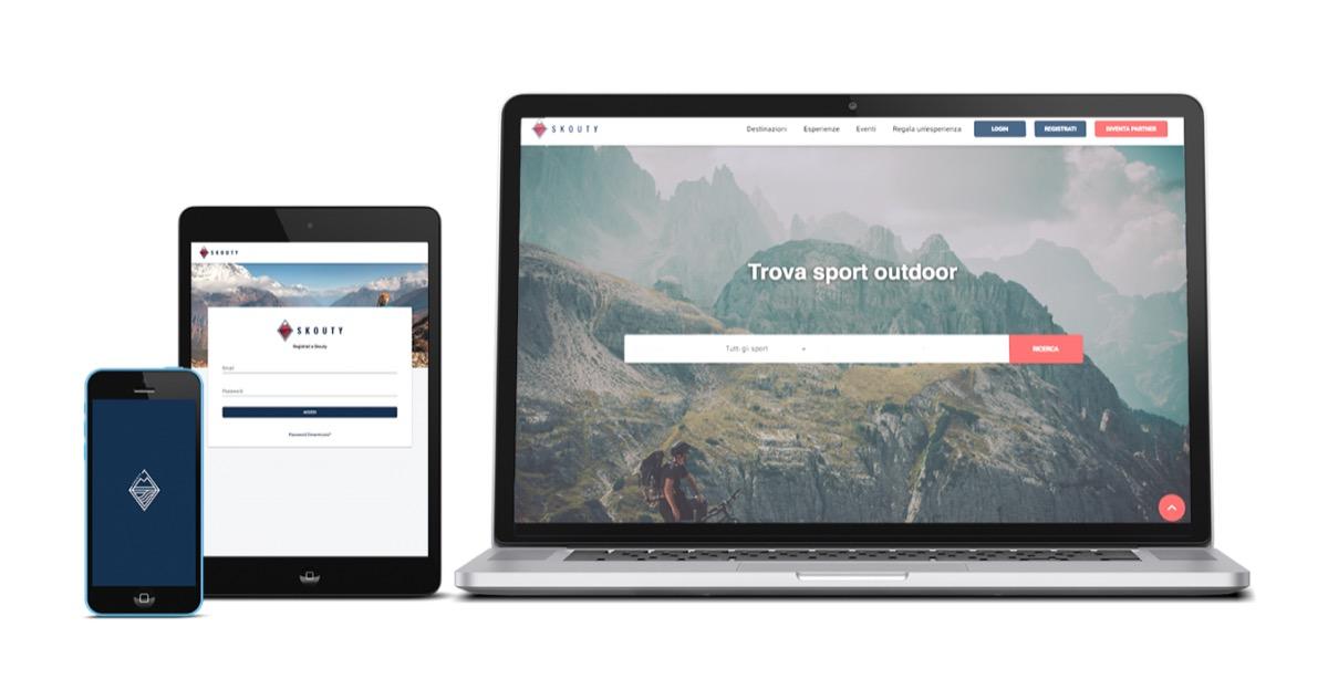 Skouty, la webapp per organizzare attività all'aria aperta con i professionisti