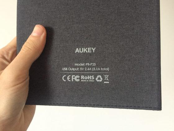 Recensione Aukey PB-P25, triplo pannello solare con 2 uscite USB