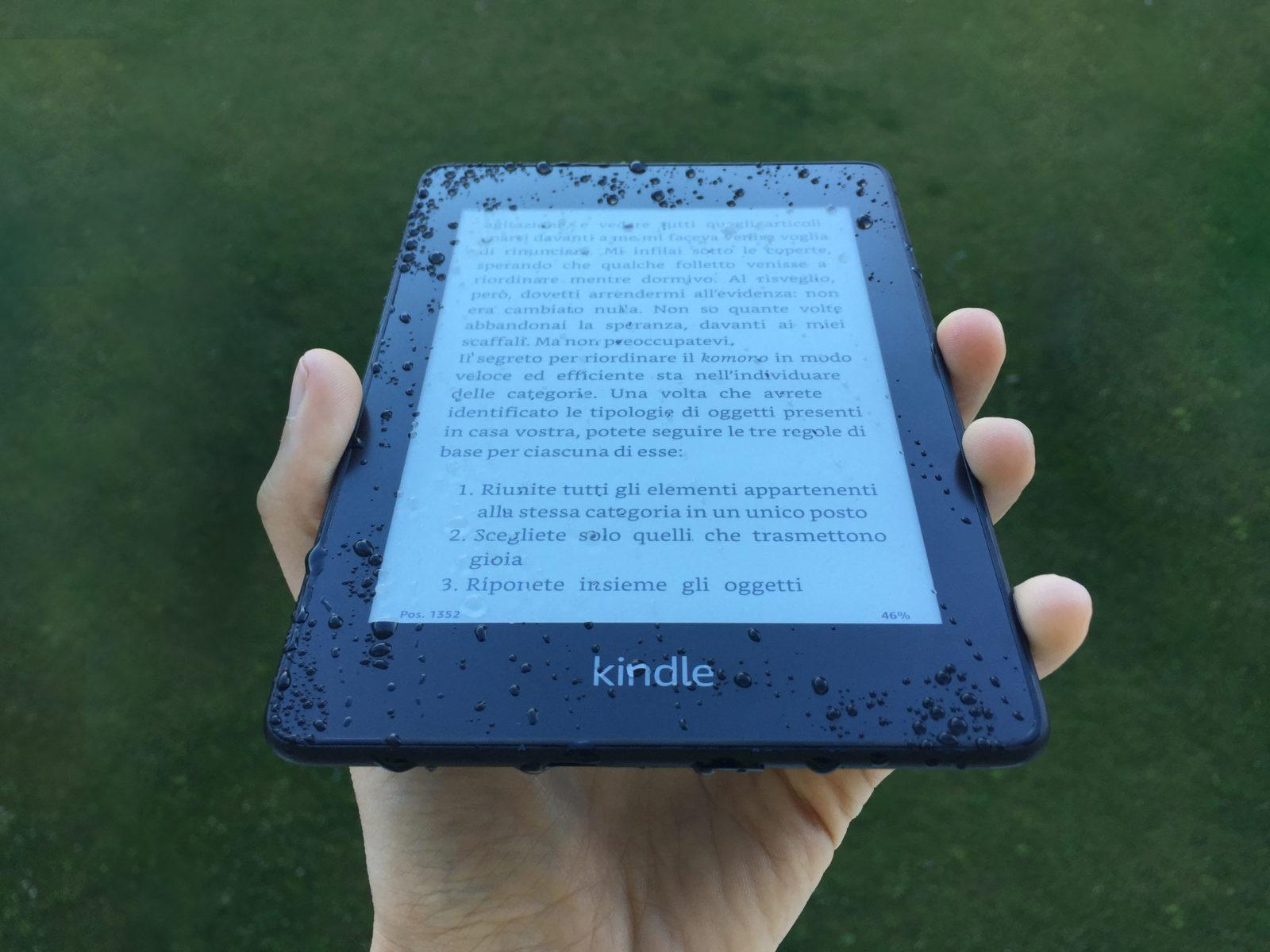 La versione attuale di Kindle Paperwhite