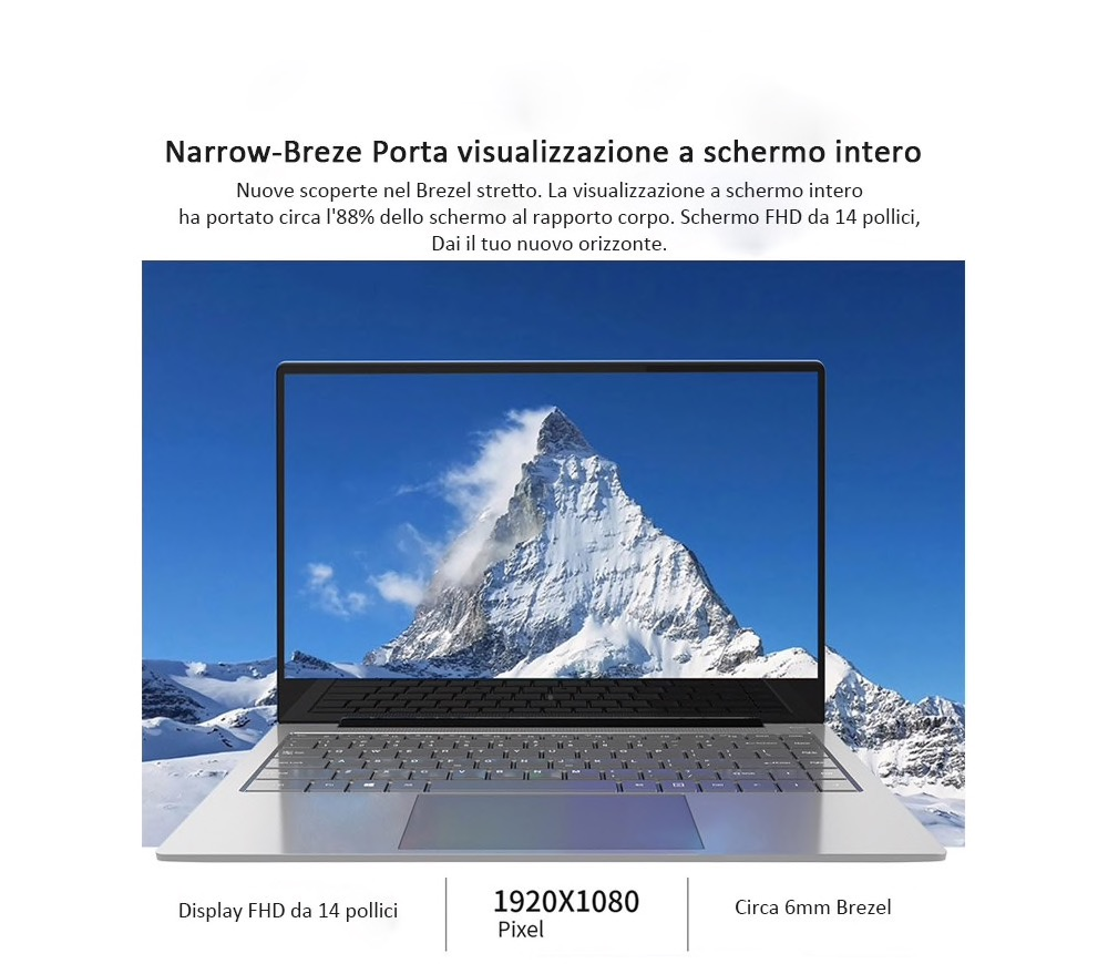 Jumper EZBook X4 Pro, in offerta il notebook