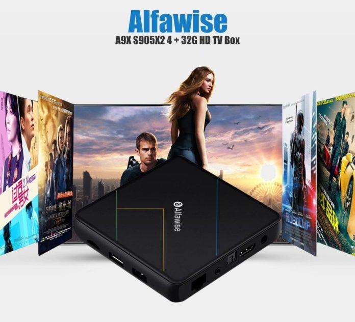 In offerta Alfawise A9X, il box Android con supporto 4K a 54 euro