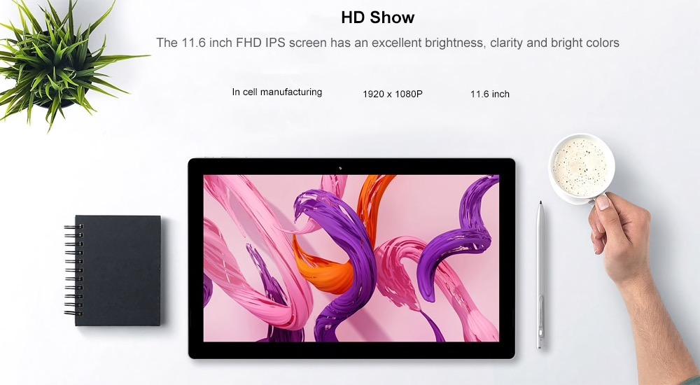 Teclast X4, in offerta il 2-in-1 che non teme il Surface Microsoft