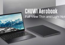 CHUWI AeroBook, l'ultrabook dal cuore Intel con 8 GB di RAM in offerta lampo