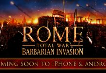 Rome: Total War – Invasioni Barbariche finalmente disponibile su iPhone