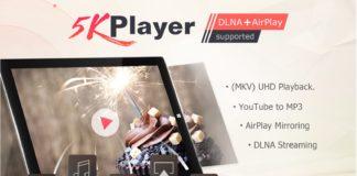 Gratis 5KPlayer: ecco l'alternativa gratuita a VLC che vi fa vincere una videocamera Panasonic