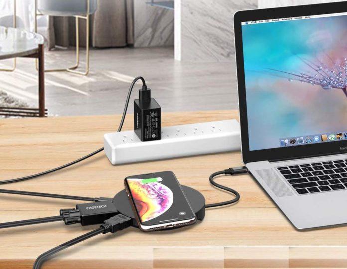 Da Choetech la dock USB-C con HDMI che funge da caricatore wireless