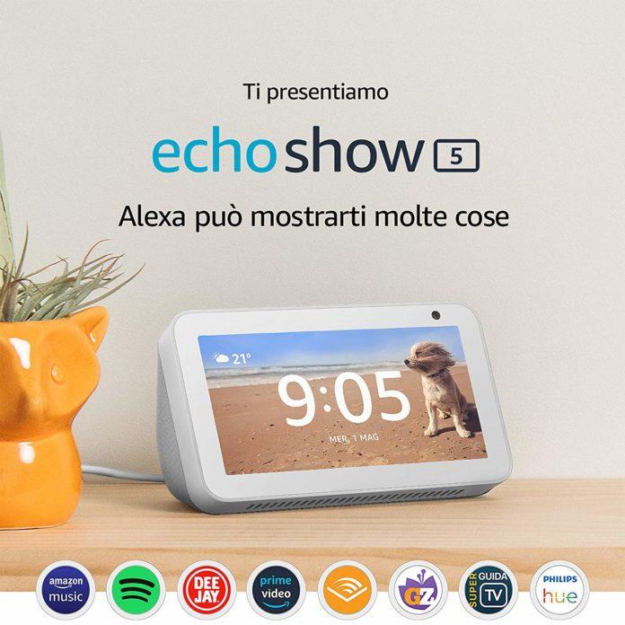 Echo Show 5, dal 26 giugno in Italia a 89,99 euro