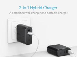 PowerCore Fusion di Anker: batteria e caricabatteria in un solo prodotto