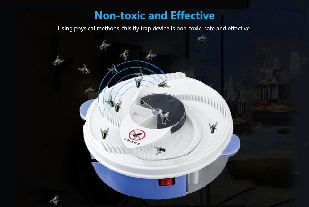 Online in offerta l'acchiappamosche ed insetti elettrico, per un'estate tranquilla