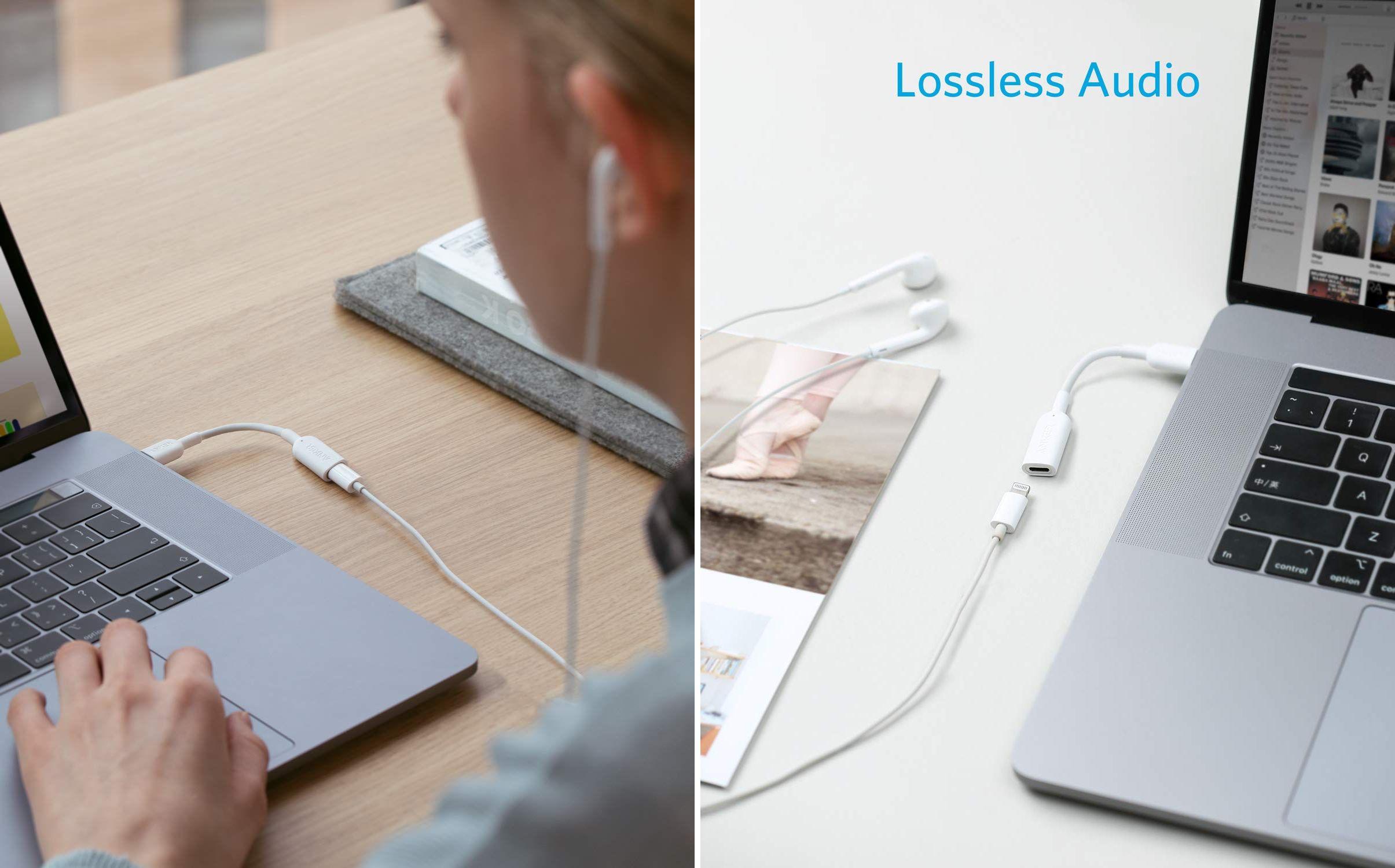 Adattatore da USB-C a Lightning di Anker