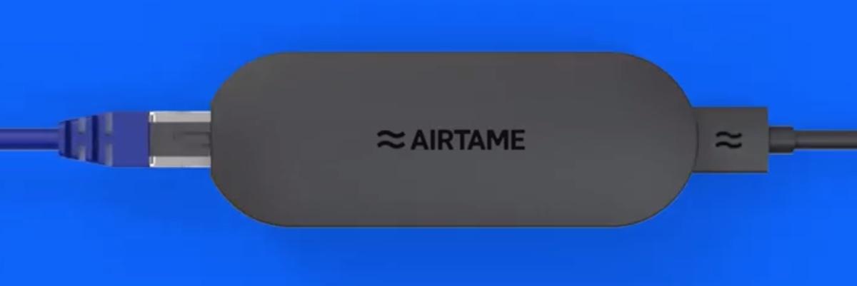 Con Airtame PoE la condivisione schermo totale migliora e costa meno