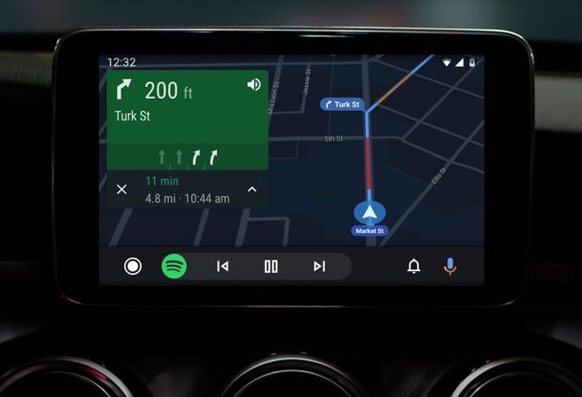 Android Auto si rifà il look, ecco le foto