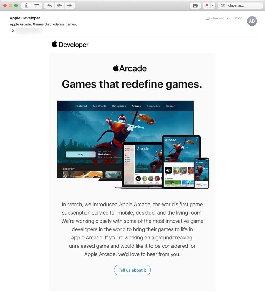 Apple invita gli sviluppatori a proporre giochi per Apple Arcade
