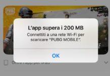 Apple aumenta il limite dei download da rete cellulare a 200 MB