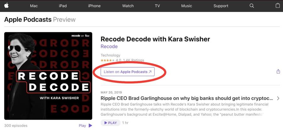 Apple toglie la dicitura iTunes, prepara la nuova app Apple Podcasts per Mac