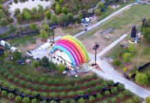 Arcobaleno ad Apple Park: svelato il mistero