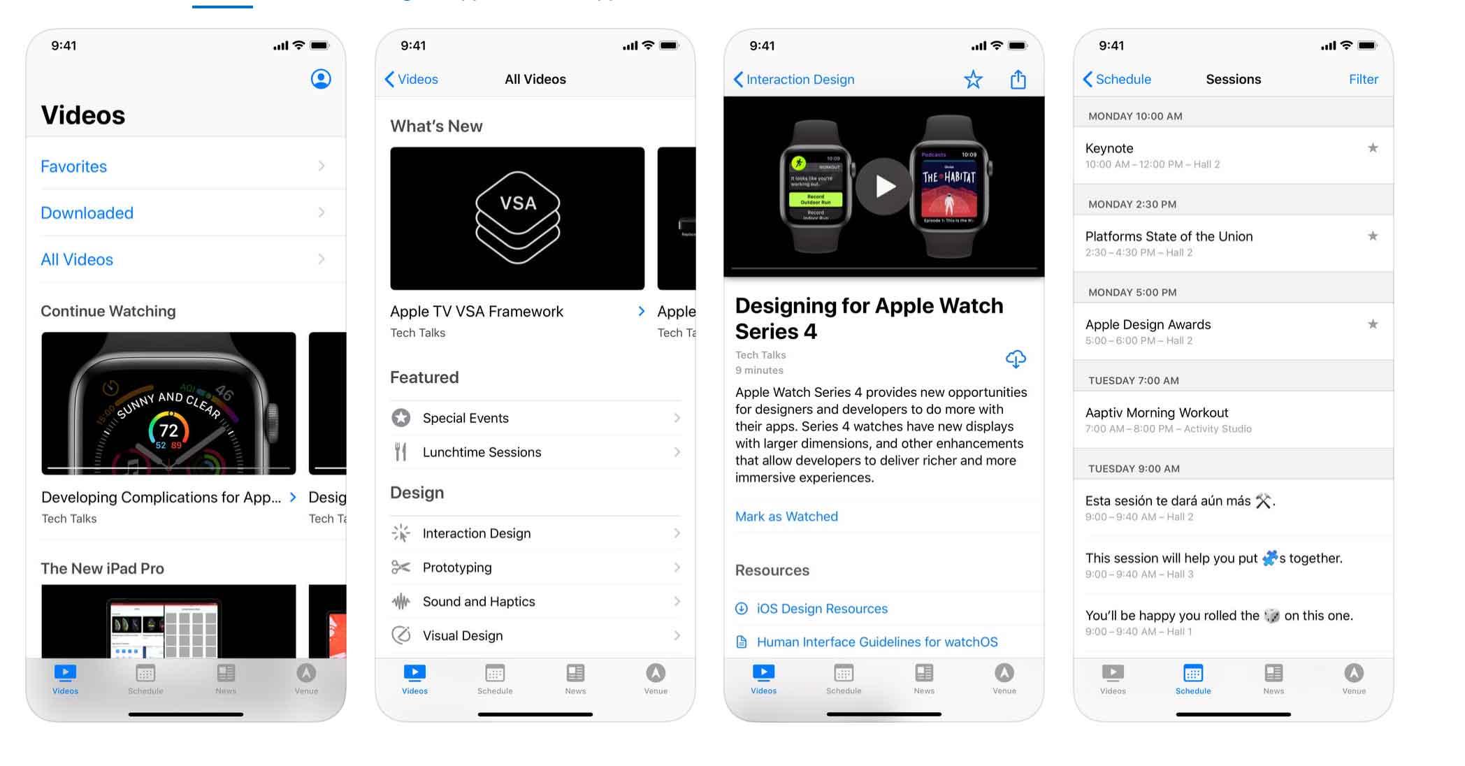 Aggiornata l'app per gli sviluppatori che partecipano alla WWDC19