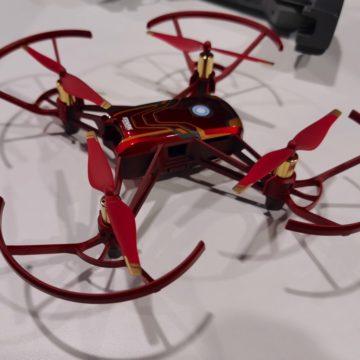 Avengers Endgame: il gioco non finisce mai con il drone Tello Iron Man Edition